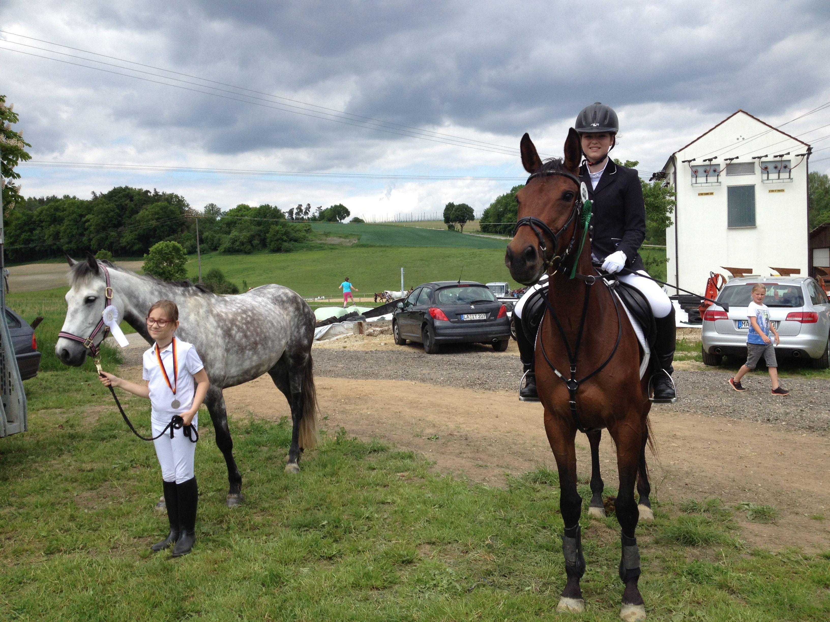 Obermünchen 3. Platz Reiterin Roider Evi mit Shalamar Tara